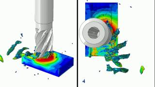 Abaqus end milling HD 4