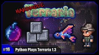 Python Plays Terraria || Unicorn Mount, Fishing & Pets Galore! || Terraria 1.3 PC Let's Play [#16]