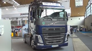Volvo FH 500 4x2 Tractor Truck (2016) Exterior and Interior in 3D
