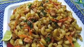 Easy Recipe Of Hot & Spicy Macaroni | Hot & Spicy Macaroni At Home | Jairy