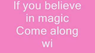 aly & aj - do you believe in magic + lyrics
