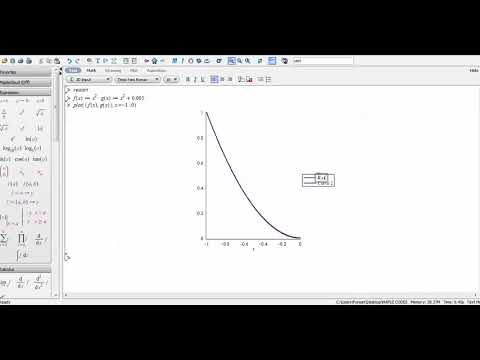 maple tutorial 1 zoomed portion magnify of graph in same graph rh youtube com