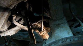 5≛ Стучит возле переднего колеса. Одна из причин стука передней подвески.