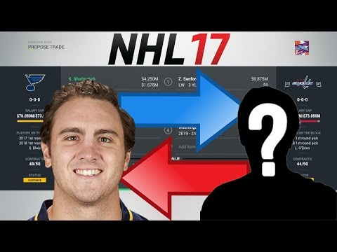 NHL 17 - SHATTENKIRK TO WASHINGTON TRADE SIMULATION