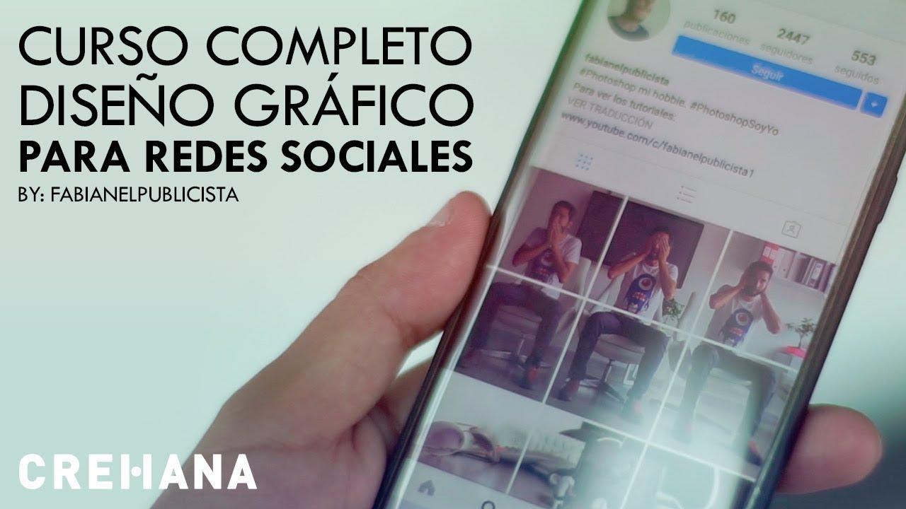 Curso de dise o gr fico para redes sociales crehana for Curso de diseno grafico