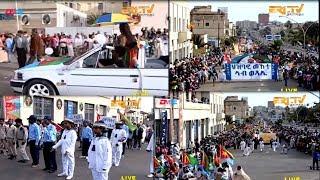 ERi-TV Independence Day Festivities - Day 6:  Street Carnival, Asmara, May 22, 2019