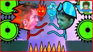 приключения огонь и вода в лесном храме fireboy and watergirl 1 от фаника 1