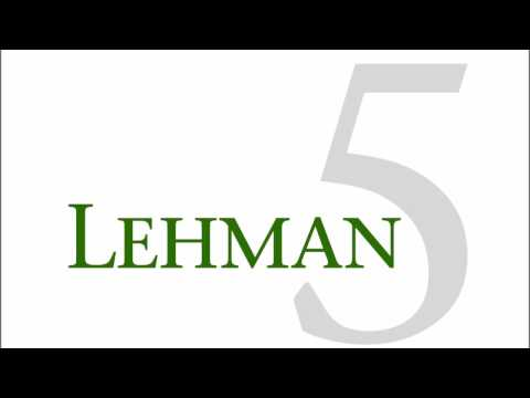 Lehman5  Crying at the Discoteque