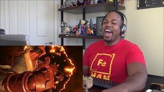 Injustice 2 - Introducing Hellboy! - REACTION!!!