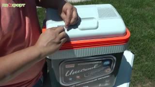 Обзор автомобильного холодильника Unicool 251