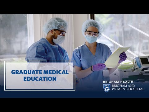 Graduate Medical Education At Brigham And Women's Hospital