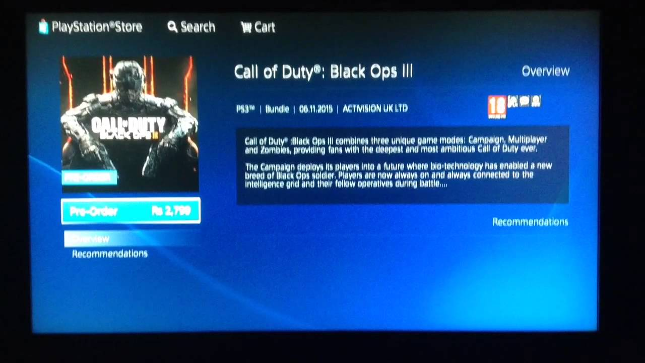 black ops 3 ps4 free ps plus