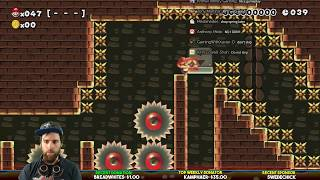 Super Mario Maker // Mario Kart 8 Deluxe Tournament [LIVE]