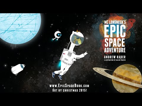 New Kids Science Book ~ Epic Space Adventure!