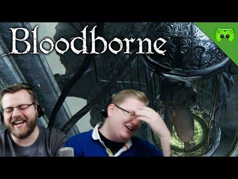 BLOODBORNE # 60 - Aufzug fahren, wooo «» Let's Play Bloodborne Together | HD Gameplay