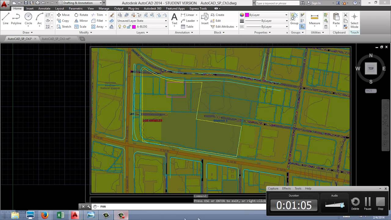 AutoCAD for Site Planning - Drawing Existing Buildings and ...