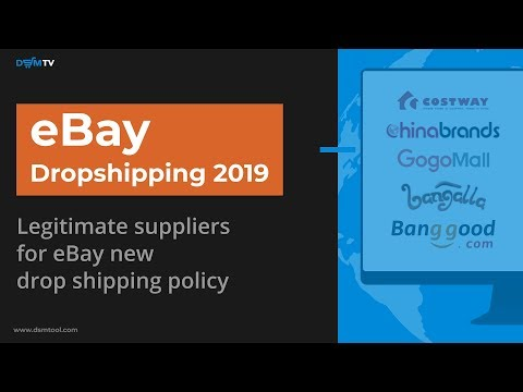 How to Deal with eBay Dropshipping Policy? DSM Tool Presents