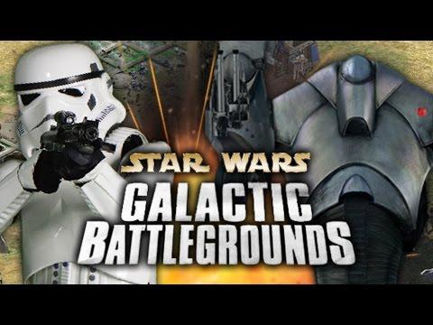 JUGANDO Star Wars: Galactic Battlegrounds - SUPERDROIDES VS STORMTROOPERS (Mayorcete)