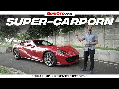 Review Indonesia Ferrari 812 Superfast l First Drive l GridOto
