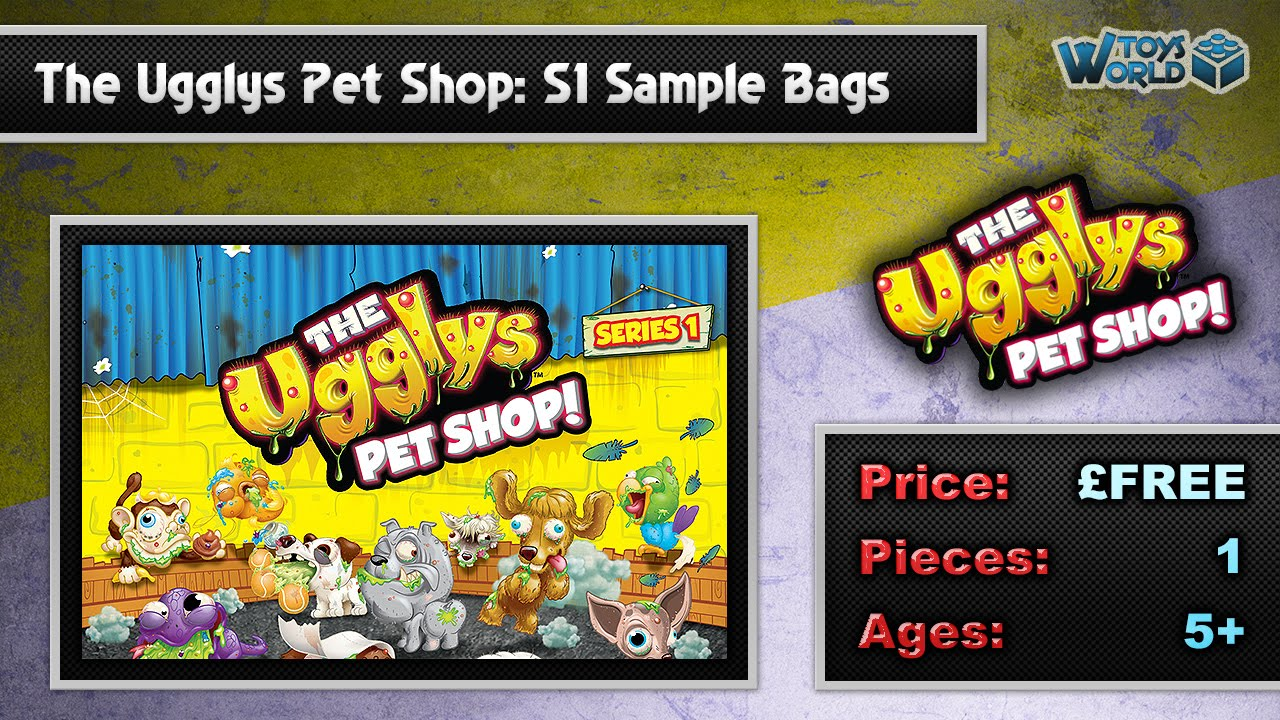 the ugglys pet shop series 1 15 sample bags   unboxing