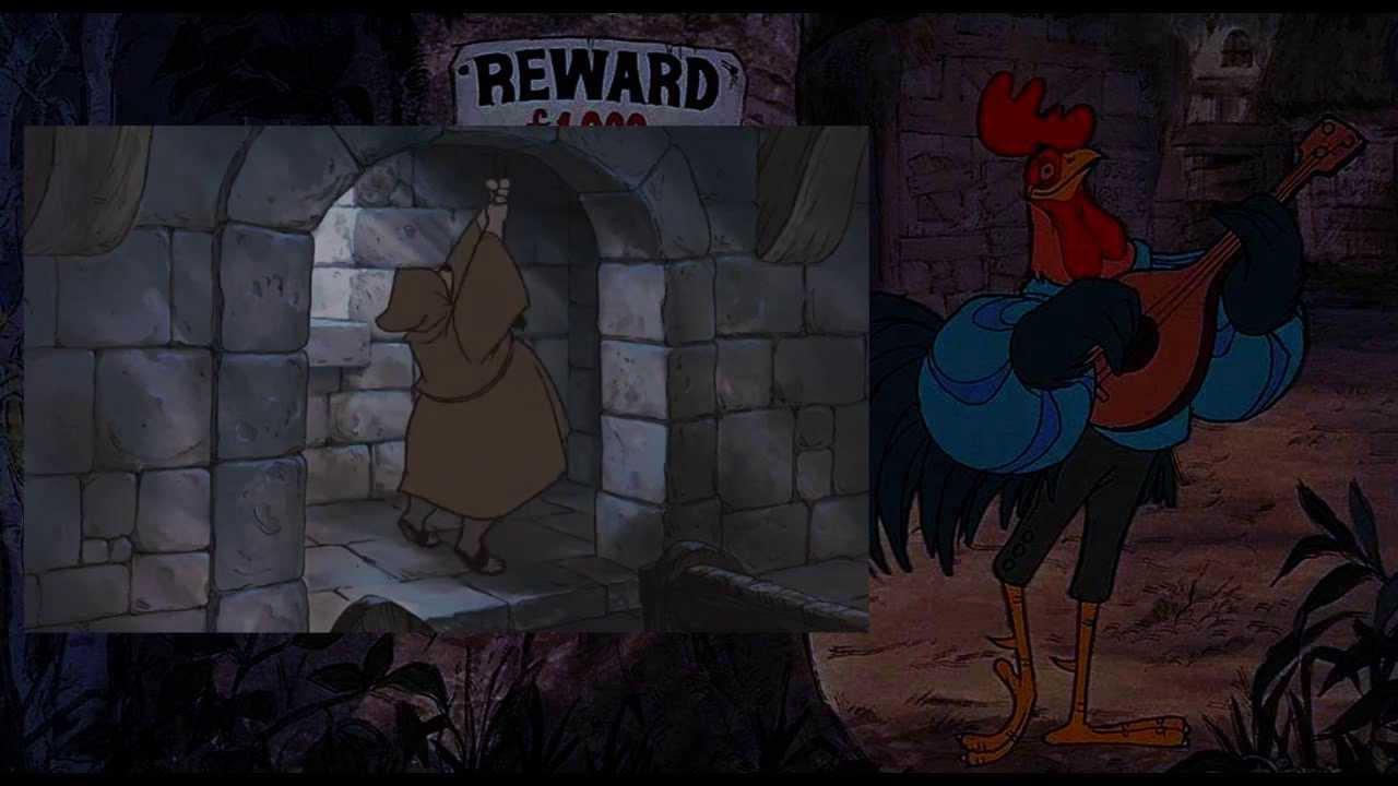 Disney S Robin Hood The Church Scene Fandub Youtube