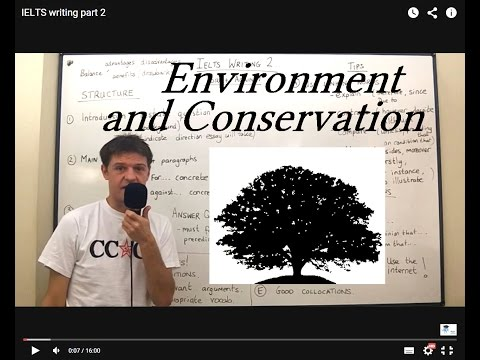 Vocabulary ENVIRONMENT AND CONSERVATION (Lesson 16)