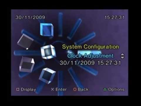 PlayStation 2 Menu Walkthrough