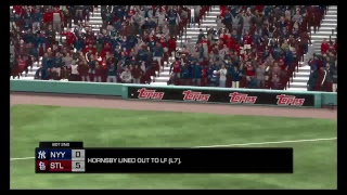 All-Time Rosters MLB the Show 18 Franchise Mode: World Series Game 1: Yankees at Cardinals