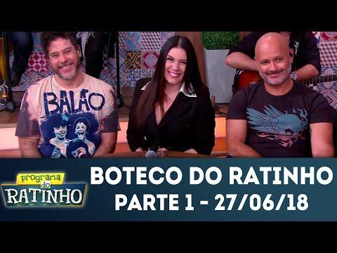 Boteco do Ratinho - Parte 1 | Programa do Ratinho (27/06/2018)