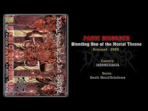 Panic Disorder (INA) - Bleeding One Of The Mortal Throne (Full EP) 2000