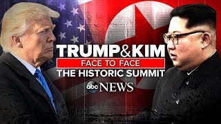 President Donald Trump, North Korea's Supreme Leader Kim Jong-un me...