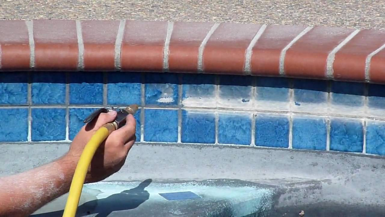 Pool Tile Cleaning Www Elitepooltilecleaning Com Youtube