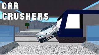 DESTROZANDO COCHES /ROBLOX /CAR CRUSHERS