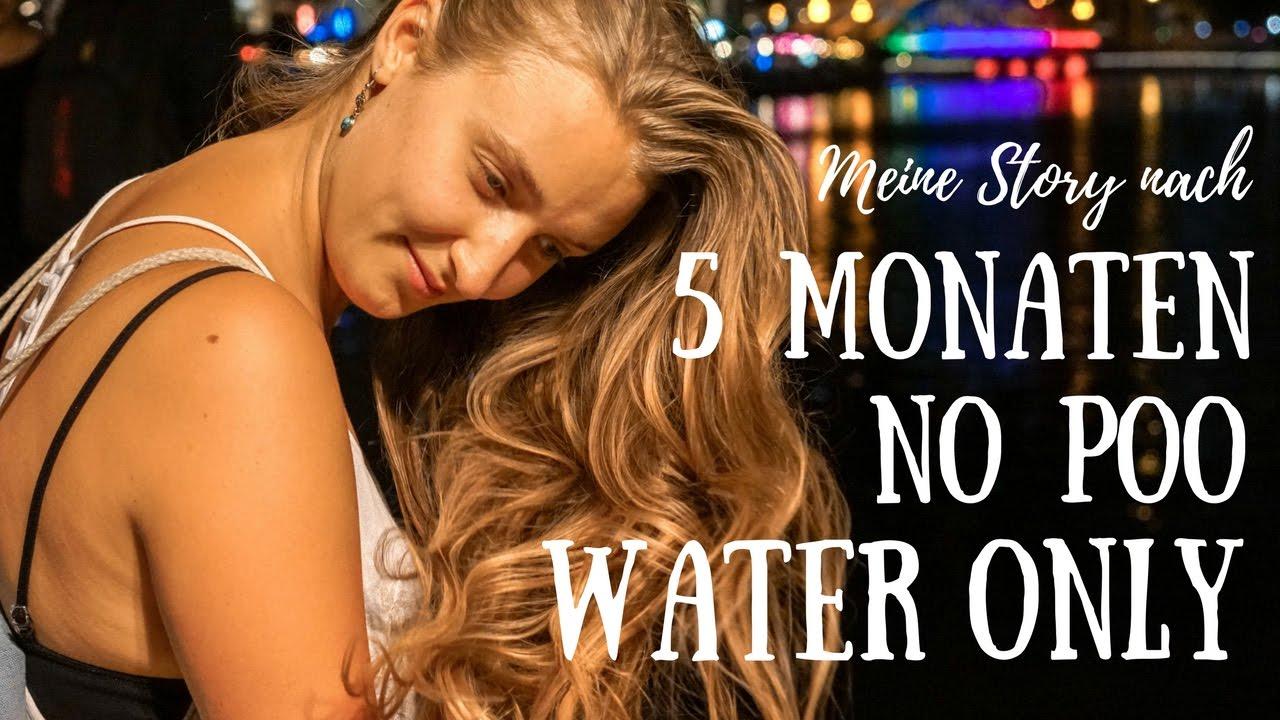 Haare ohne shampoo waschen vegan