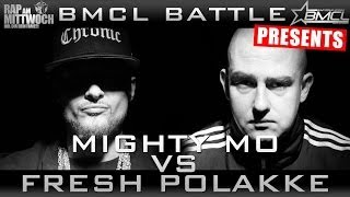 BMCL RAP BATTLE: MIGHTY MO VS FRESH POLAKKE (BATTLEMANIA CHAMPIONSLEAGUE)