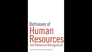 قاموس HR