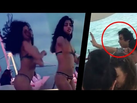 Navya Nanda dancing in a bikini   Amitabh's granddaughter with Shahrukh's son   Hot Tamil News