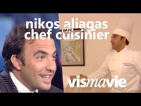Nikos Aliagas (The Voice) en chef cuisinier - Vis ma vie