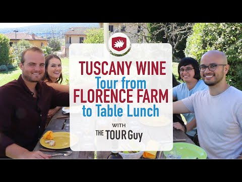 Tuscany Wine Tour from Florence with Farm to Table Lunch