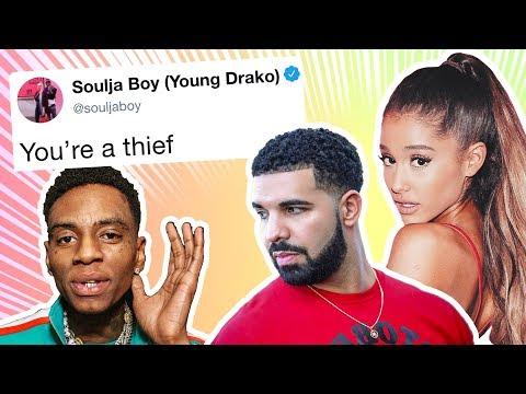 Soulja Boy Starts Twitter War, Accuses Ariana Grande And Drake Of Theft