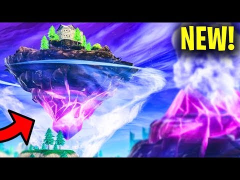 FORTNITE CUBE VOLCANO EVENT IS HAPPENING NOW AT LOOT LAKE!? Fortnite Battle Royale