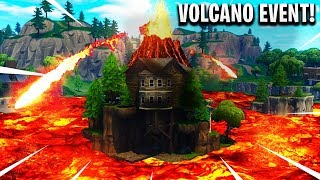 FORTNITE CUBE VOLCANO EVENT IS HAPPENING NOW AT LOOT LAKE!? (Fortnite Battle Royale LIVE)