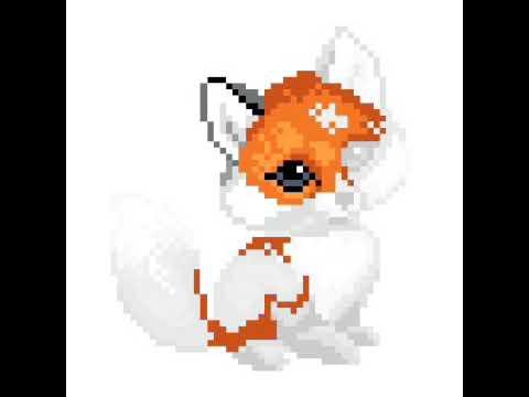 Pixel Art Renard 1 Youtube