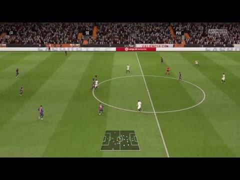 Liga Valence/FC Barcelone