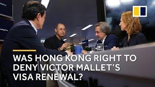 Was Hong Kong right to deny Victor Mallet from Financial Times' visa renewal?