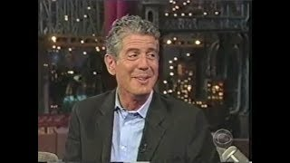 Anthony Bourdain Collection on Late Show, 2000-2011