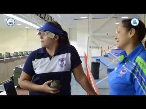 Lilian Castro atleta Team ESA de Tiro