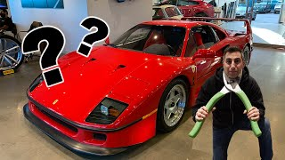 I BROKE OUR $1.8 MILLION DOLLAR FERRARI F40!