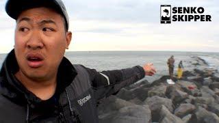 Striped Bass Fishing: Near Death Experience on a Dangerous Jetty