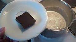 Laitoin suklaata kaurapuuroon